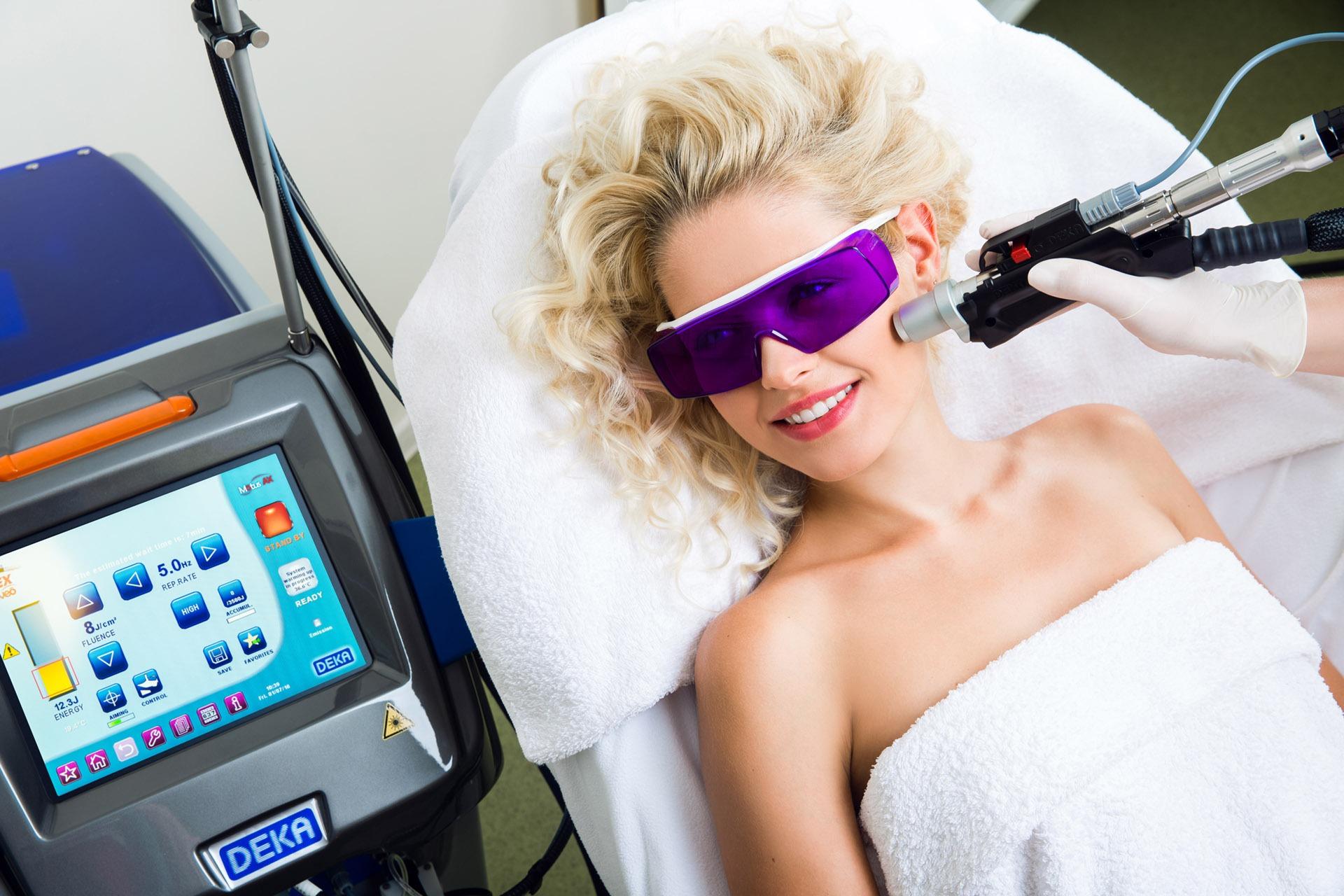 лазерна епіляція світлого волосся