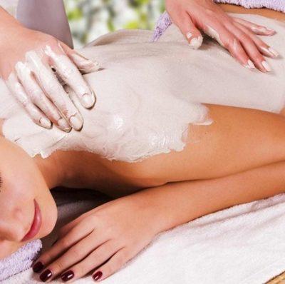 масаж глиною
