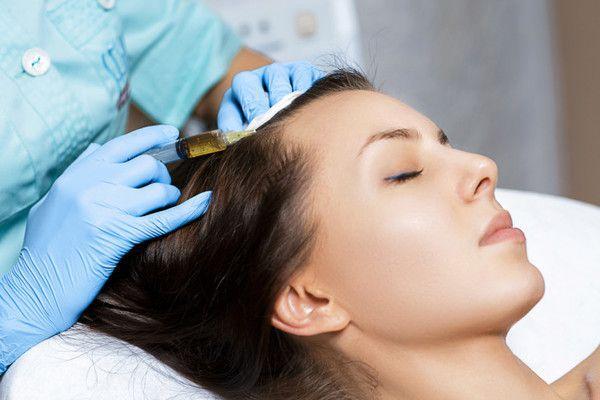 Мезотерапія шкіри волосся