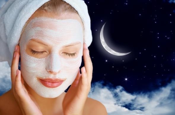 маски на ніч для обличчя