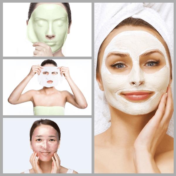 види масок для обличчя навіщо вони потрібні