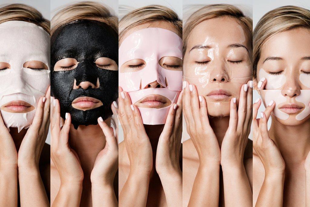види масок для обличчя